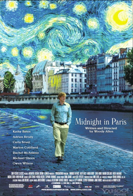 Midnight in Paris. Woody Allen. El bolso amarillo